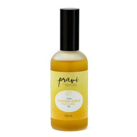 Huile Maman-Bébé Mum and baby oil Pravi