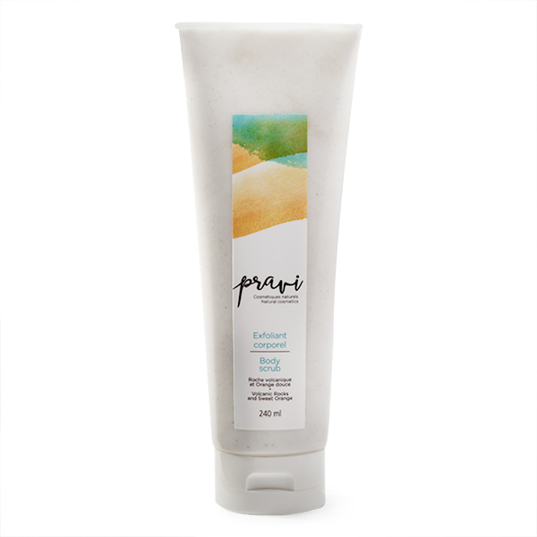 Exfoliant corporel Body scrub pravi